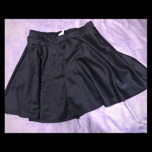 Black Skater Skirt, Size 2X. Never Worn!